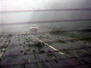 В Воронежской области ликвидируют последствия ночного урагана