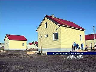 В Воронежской области на месте пепелищ появились коттеджные кварталы