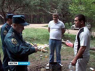 В Воронежской области продлён особый противопожарный режим