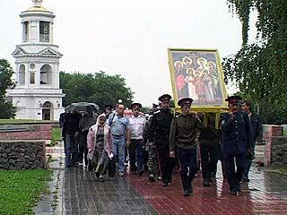 В Воронежской области проходит крестный ход