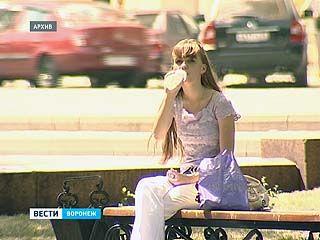 В Воронежской области сейчас по-настоящему жарко