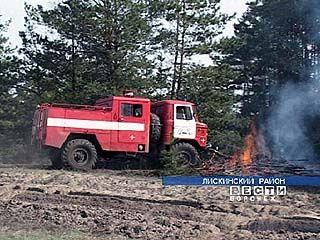 В Воронежской области стабилизировалась ситуация с пожарами