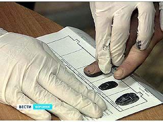 В Воронежской области только в январе дактилоскопическую регистрацию прошли 115 человек