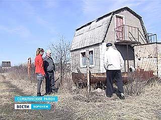 В Воронежской области участились случаи налетов на дачи