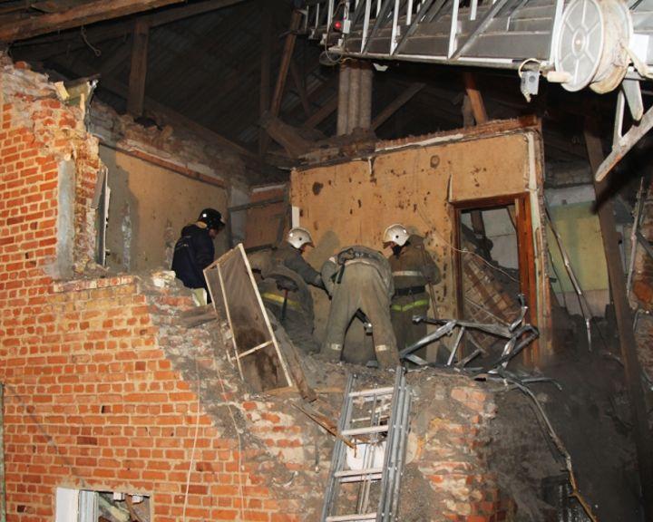 В Воронежской области в жилом доме произошёл взрыв бытового газа