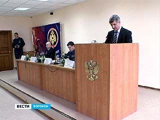 В Воронежской области вскоре появится 20 новых пожарных частей