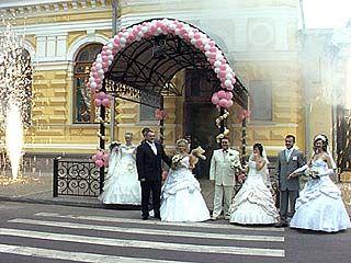 В Воронежской области зарегистрировано десять тысяч бракосочетаний