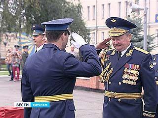 В Воронежской Военно-Воздушной Академии состоялся выпуск офицеров