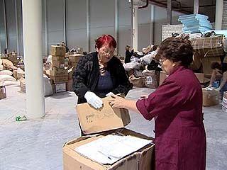 В Воронежскую область поступило огромное количество гуманитарной помощи