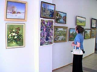 """В выставочном зале на Кирова открылась экспозиция """"Летний вернисаж"""""""