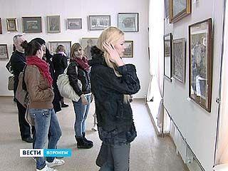 В выставочном зале на Пушкинской - Воронеж, которого уже нет