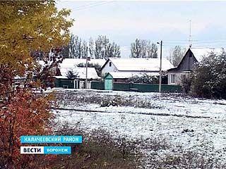 В южных районах Воронежской области уже лежит снег