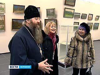 В зале на улице Кирова открылась выставка полотен протоиерея Василия Попова