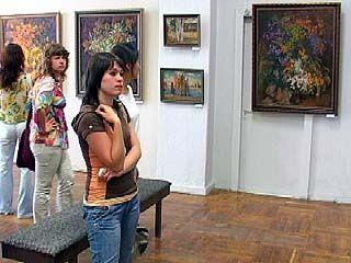 В Зале союза художников будет представлена новая выставка