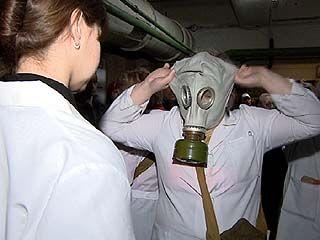 В Железнодорожном районе Воронежа готовятся к химической атаке