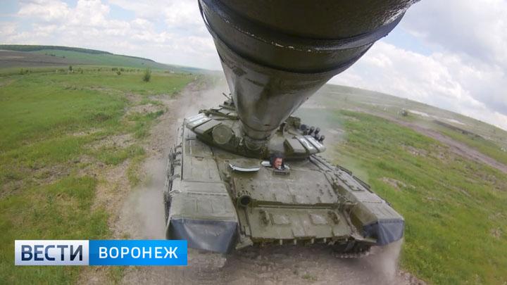 Как из обычных парней в Острогожске делают танкистов