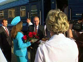 Валерий Шатаев посетил Воронеж с рабочим визитом