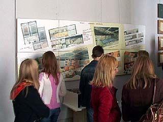 ВДоме архитектора открылась выставка работ студентов ВГАСУ