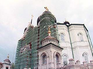 Ведется отделка самого большого храма Воронежской области