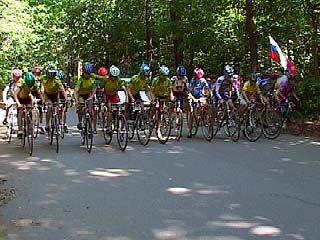 Велосипедисты со всей России собрались в Рамонском районе