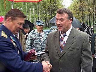 Ветеранам боевых действий вручили медали