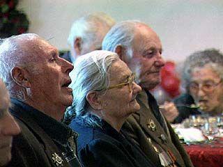 Ветераны-переселенцы вспоминали вкус фронтовой каши