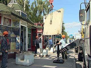 Владельцы киосков вновь готовы строить баррикады