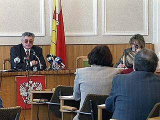 Владимир Попов рассказал о работе своей службы