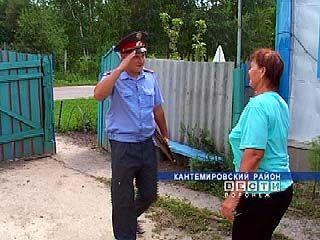 Власти Кантемировского района помогают местным участковым