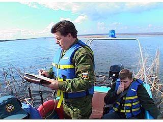 Водоемы области - под бдительным контролем сотрудников рыбнадзора