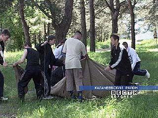 """Военно-спортивную игру """"Орленок"""" провели в Таловой"""