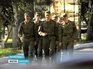 Военнослужащие Острогожской части попали на больничную койку из-за немытых овощей