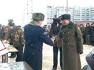 Военнослужащие отпраздновали новоселье
