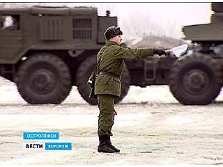Военные из Воронежской области - в полной боеготовности