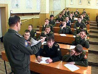 Военные ВУЗзы России начинают готовить профессиональных сержантов