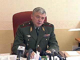 Военный комиссар Воронежской области провел пресс-конференцию