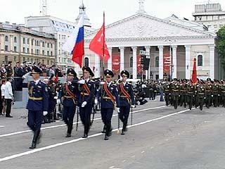 Военный парад - самое ожидаемое событие 9 мая