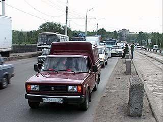 ВОГРЕССовский мост опять стоит