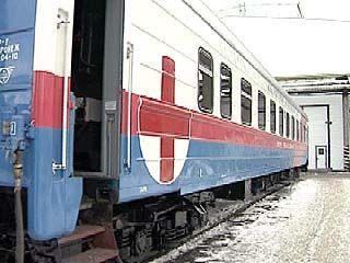 """Воплощается в жизнь новый проект - поезд """"Здоровье"""""""