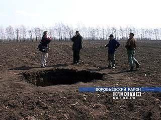 Воробьевский район посетили инопланетяне