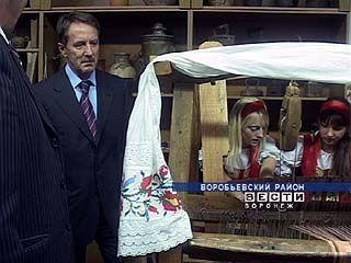 Воробьевский район стал последним в списке рабочей поездки губернатора
