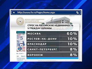 Воронеж - в пятерке самых популярных городов, куда мечтают перебраться украинцы