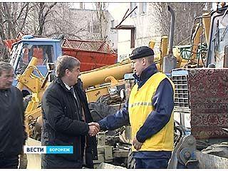Воронеж готов к снегопадам и гололедице