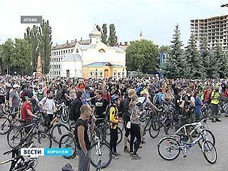 Воронеж готовится к международному съезду велосипедистов