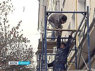 Воронеж готовится ко встрече олимпийского огня, но на все фасады денег не хватило