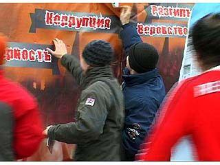 Воронеж освободили от  коррупции, воровства и разгильдяйства