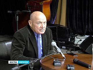Воронеж посетил известный тележурналист Владимир Познер