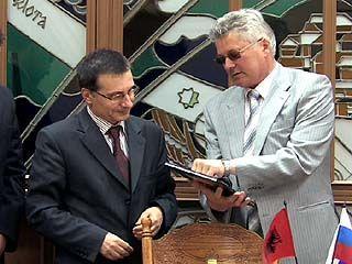 Воронеж посетил посол Албании