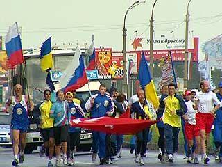 Воронеж стал восьмым городом на пути марафонцев