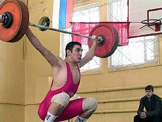 Воронеж в тяжелой атлетике дебютант